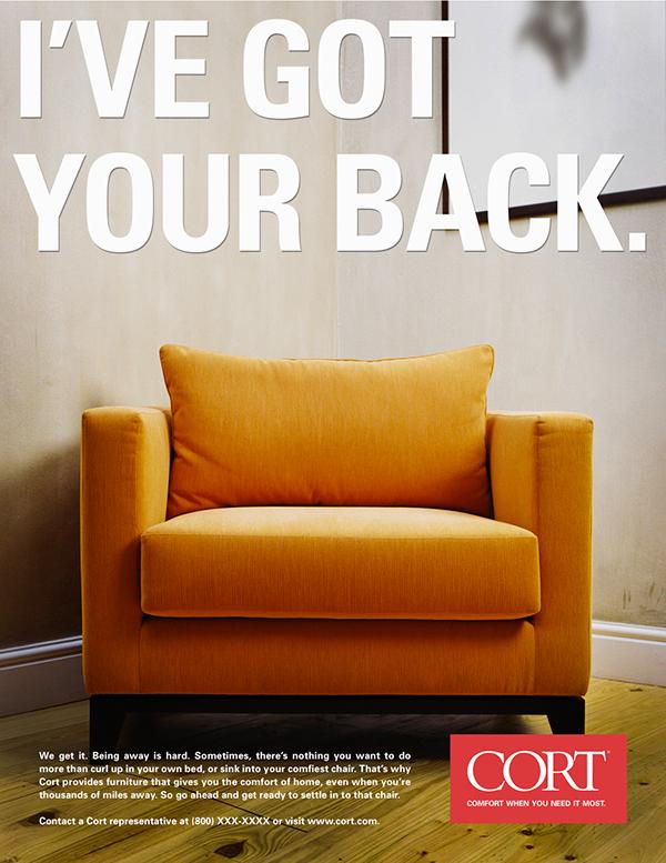 Spec Work Cort Furniture Print Ads