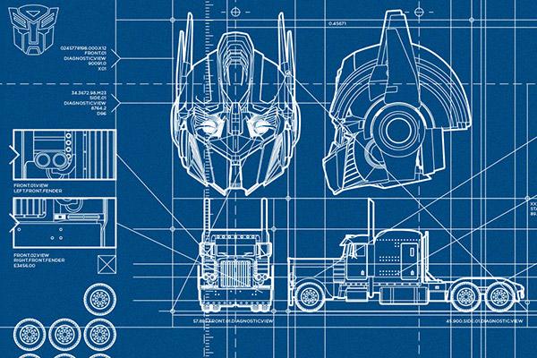 Transformers Schematics On Risd Portfolios