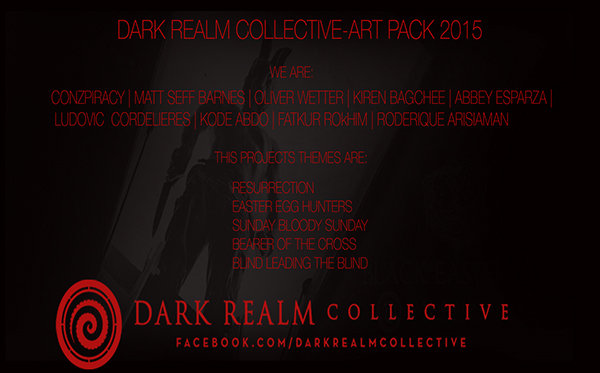 horror art Collective  design