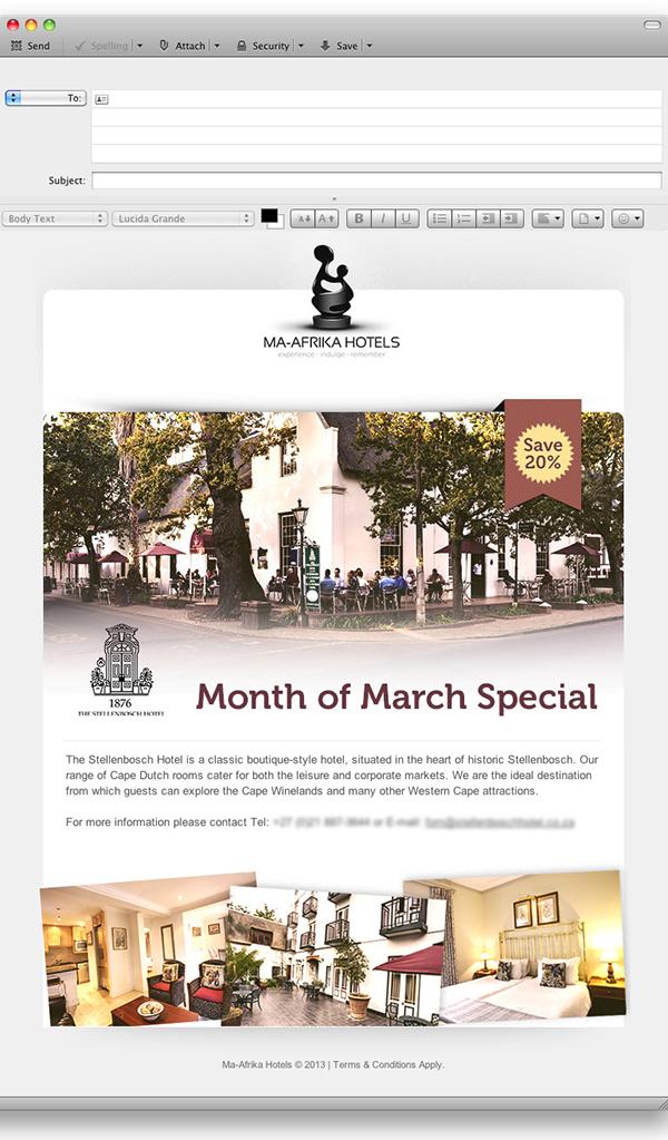 mailer newsletter design