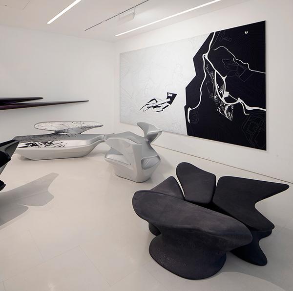 Zaha Hadid Furniture Designs: Zaha Hadid Design Gallery On Behance