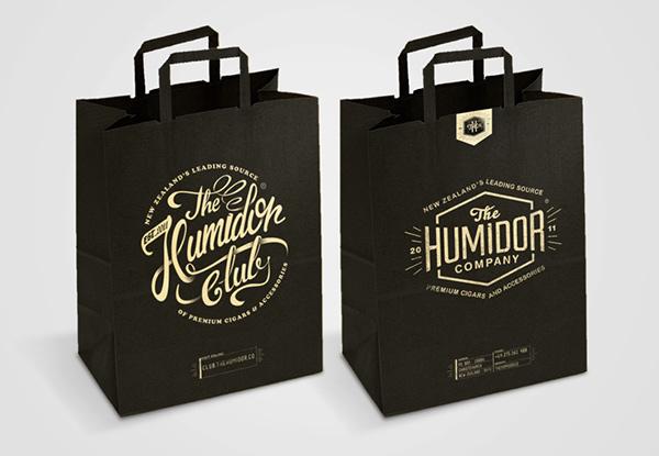 lettering Logotype the humidor co alex ramon mas