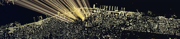 data visualization  exhibit IBM centennial