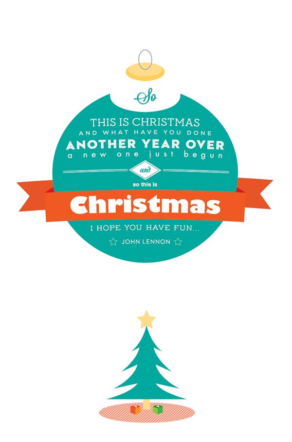 Christmas Card 2012 On Student Show