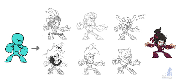 Character Design Behance : Brawlhalla character design on behance
