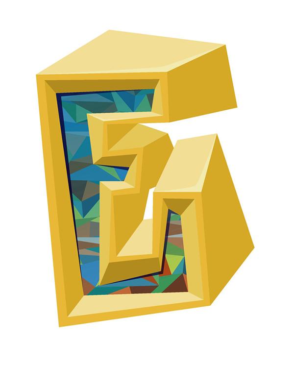 wais alphabet letters digital