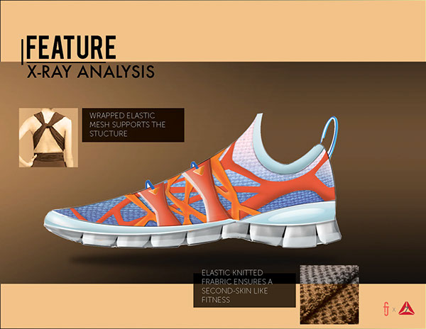 Reebok and Nature Elements Inspired Shoe Design on SCAD ...