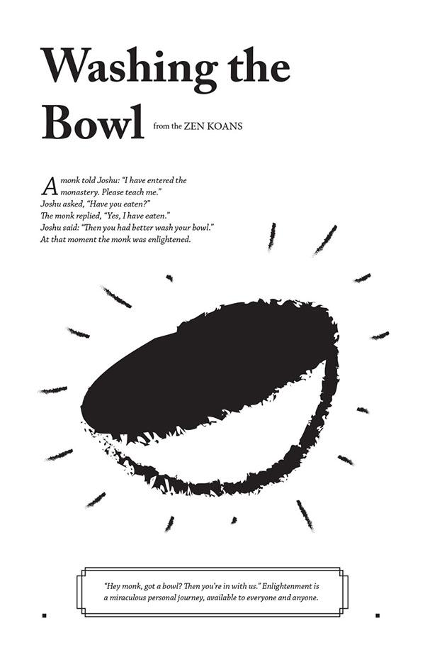 Excerpts From The Zen Koans On RISD Portfolios
