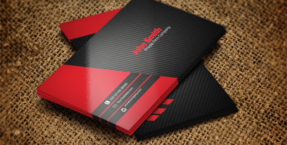 20  free black business card psd simple download on behance