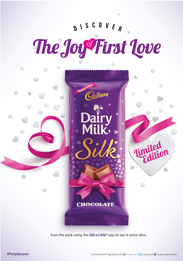 Dairy Milk Silk - Valentine's day