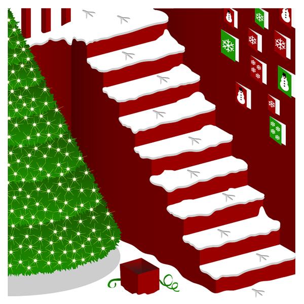 Christmas prints Tree