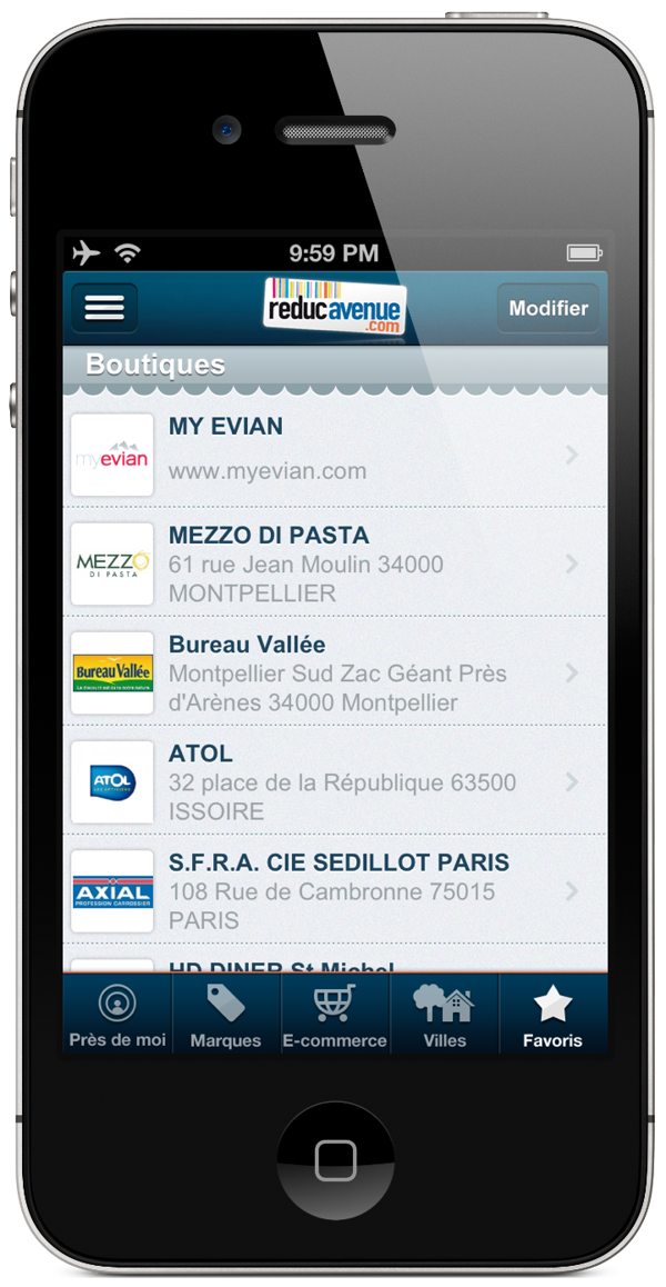 iphone app commerce