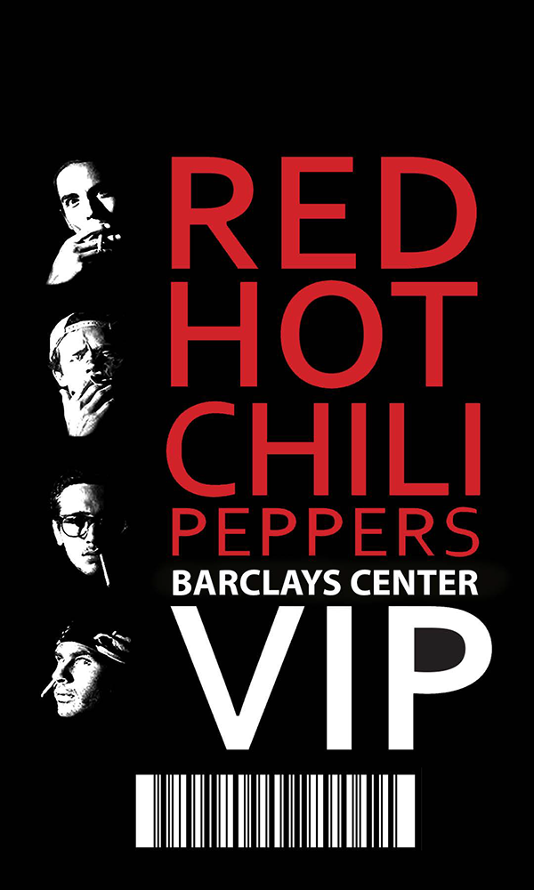 Red Hot Chili Peppers Poster Project On Aiga Member Gallery