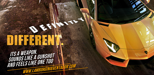 Lamborghini Werbung