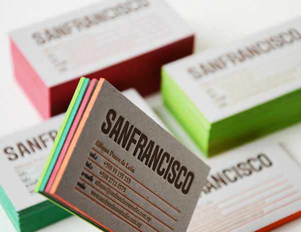 Sanfrancisco personal business cards on behance reheart Images