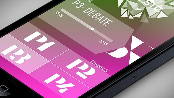 spotify app Radio design logo steps