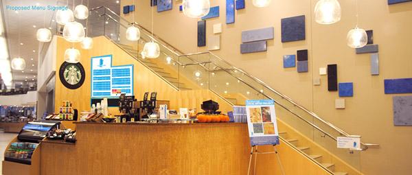 Blue Glass Cafe John Hancock