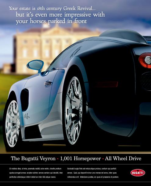 Bugatti Veyron Ads On Behance