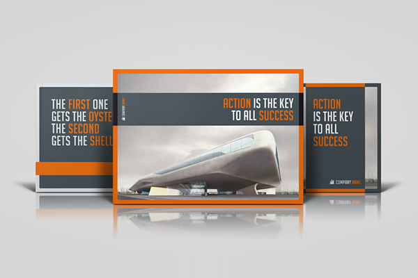 Business Horizontal Brochure on Behance