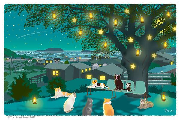 有獨特感的19套聖誕節插圖欣賞