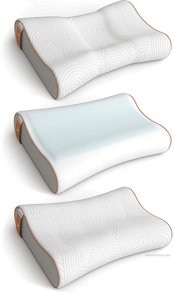 Tempur-Pedic Contour Pillow Renderings on Behance