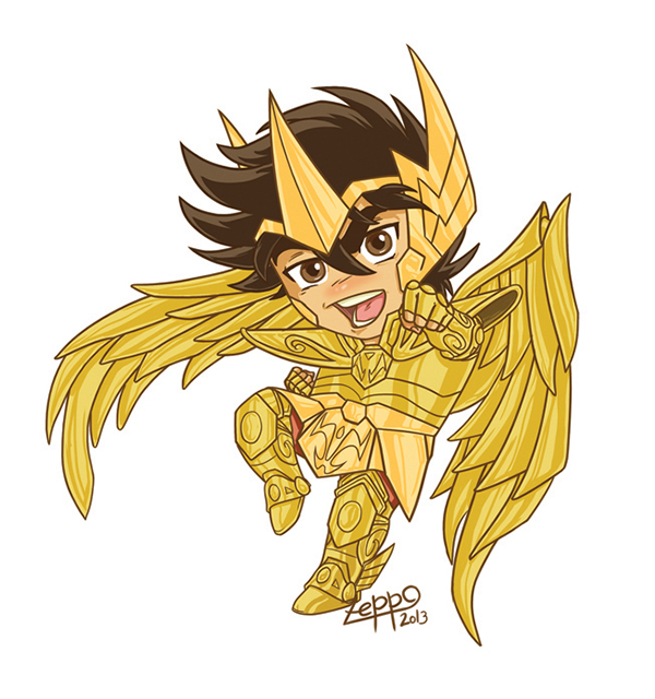 Fanart- Chibi Saint Seiya On Behance