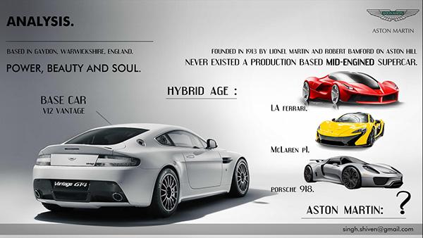 Aston Martin Vertere Hybrid Supercar On Behance