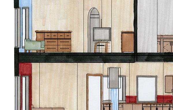 Interior Design Portfolio On The Art Institutes Portfolios