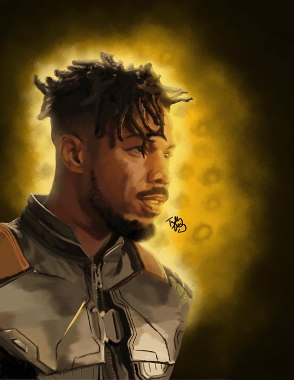 Killmonger Painting
