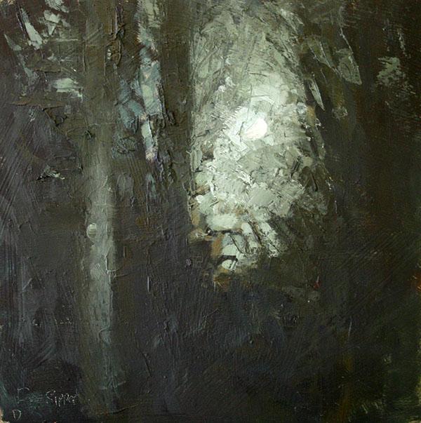 night nocturne art Landscape water fine art
