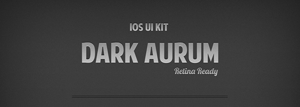 Dark Aurum Ui Kit