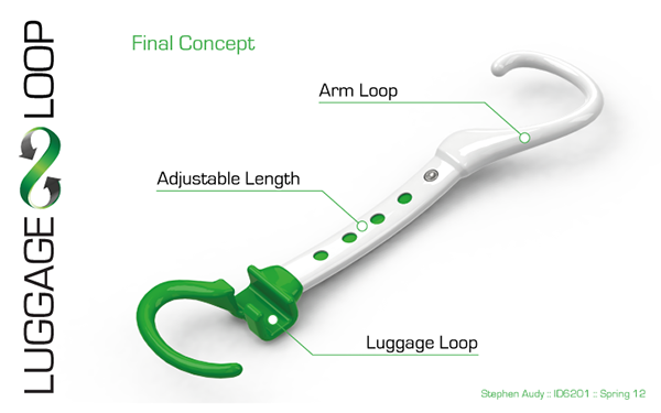 Luggage Loop on Behance