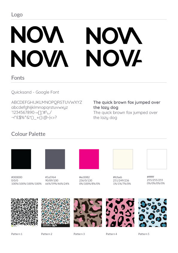 Nova - Initial Concepts