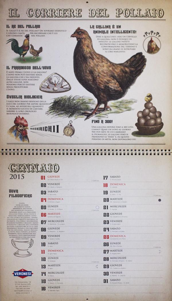 calendario calendar animals animali