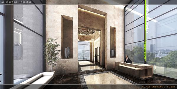Al-Mafraq Hospital Interior Design , AbuDhabi on Adweek ...