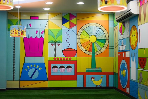 Kids Corner Mural on Behance