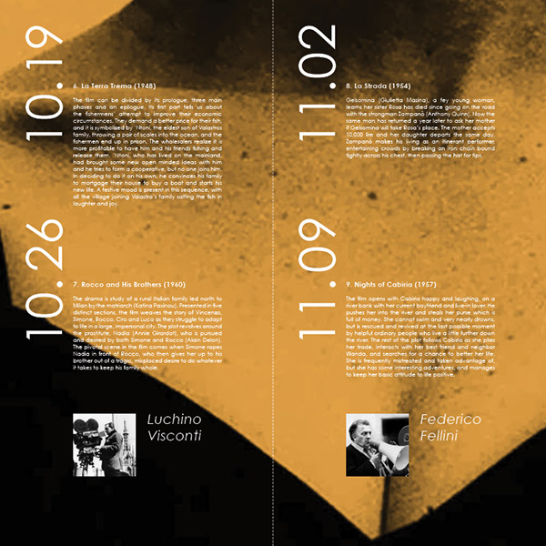Neorealism: Neorealism Film Club Poster On Behance