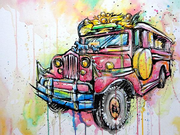 jeepney fine ar...