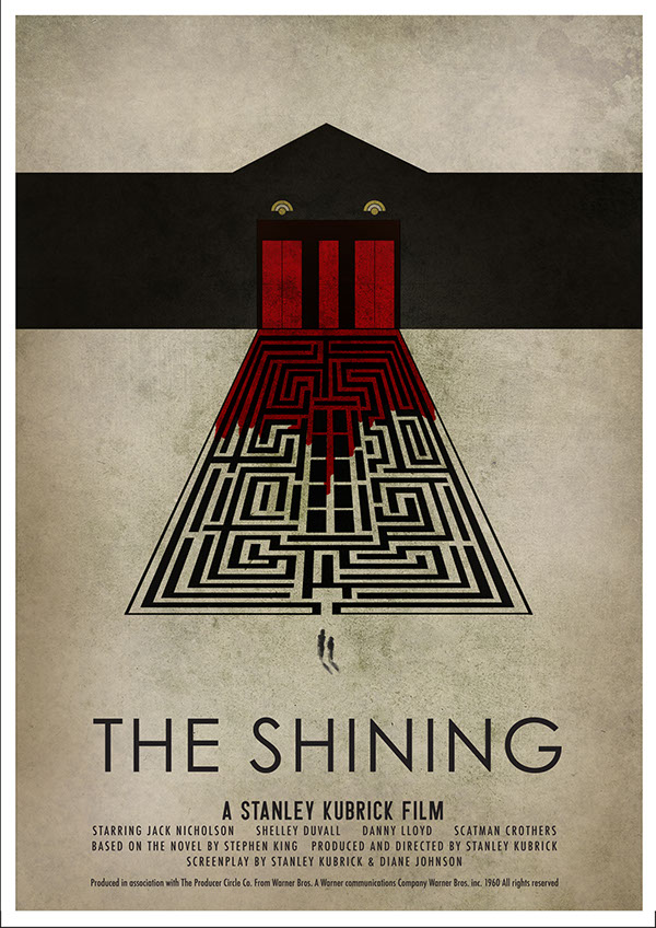 The Shining - Poster on Behance