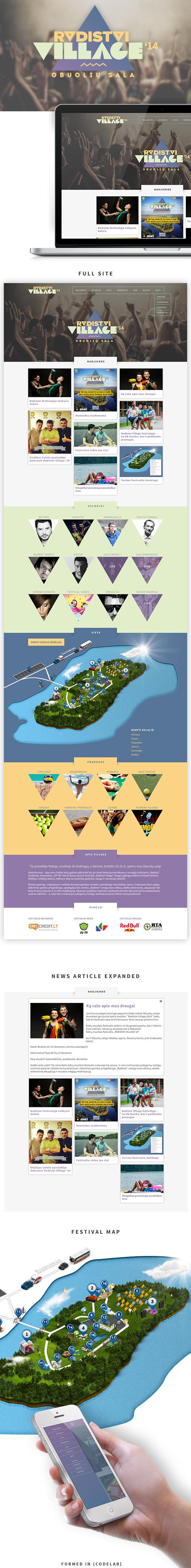festival Music Festival fest Music Fest One Page Single Page colorfull summer wordpress design Webdesign