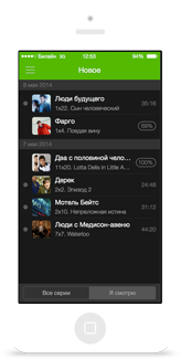 ios iphone Interface