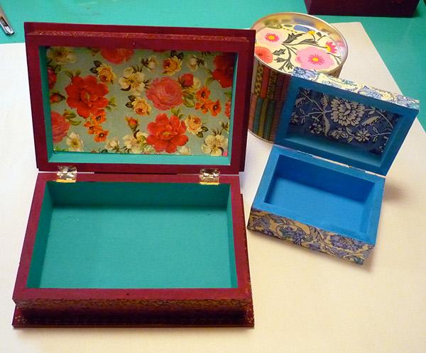 Cajas de madera pintadas a mano on behance - Cajas de madera pintadas a mano ...
