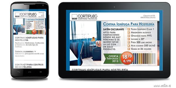 cortiplec Identidad Corporativa diseño gráfico Web SEO Socialmedia