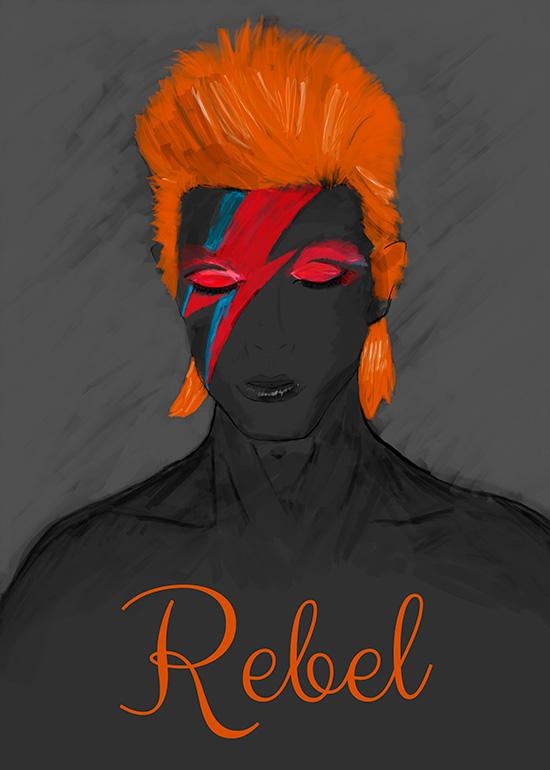 david bowie Ziggy Stardust rebel
