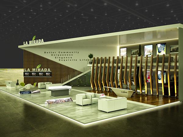 Exhibition Stand Design Jobs : Exhibition design la mirada booth cityscape cairo on