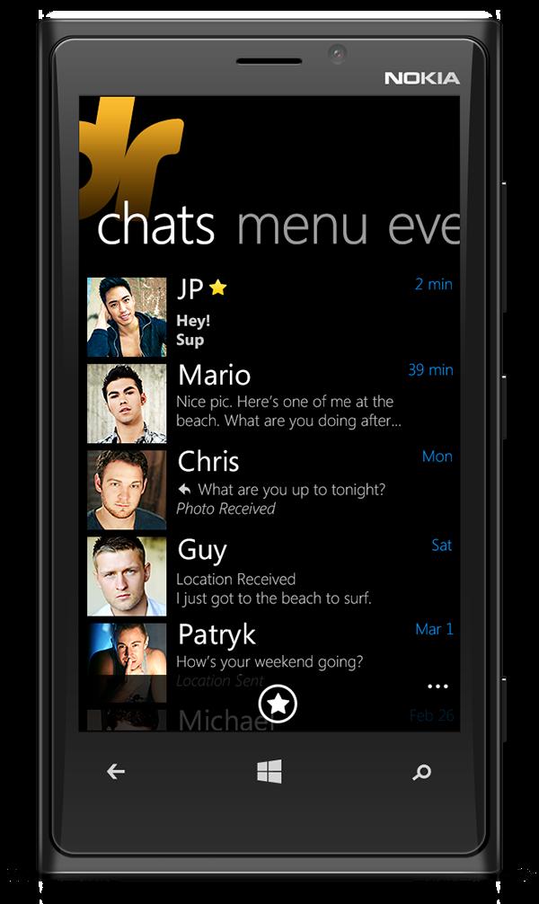 Grindr - Windows Phone App on Behance