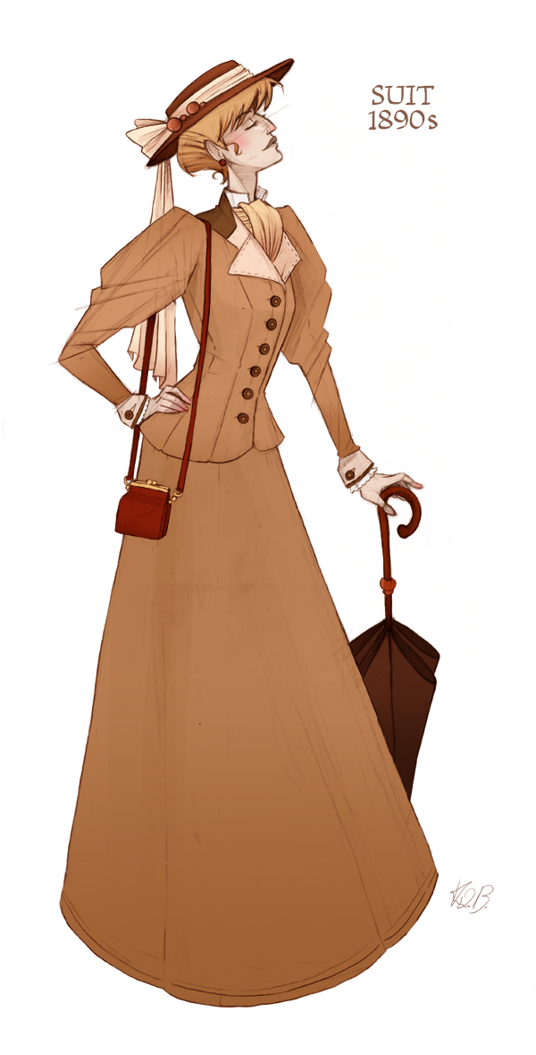 Character Design History : History fashion and character design on behance