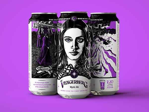 Of Vengerberg : Beer Label