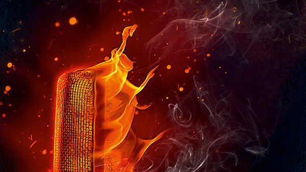J'animals digipak cd cover Flames red blue heat rock Zagreb Croatia žanamari lalić croatia records robert butković fire smoke