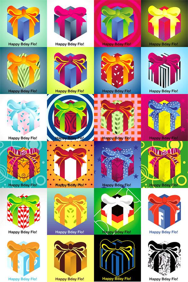 gift kado vector profile picture avatar Birthday